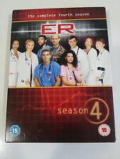 ER EMERGENCY SEASON 4 - 3 DVD ENGLISH FRENCH ITALIAN + EXTRAS GEORGE CLOONEY