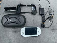 Sony PlayStation Vita White Handheld 1000 Model + Accessories