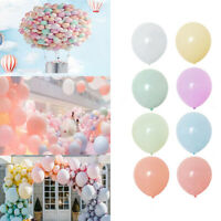30 Pcs Macaron Candy Pastel Latex Balloons Helium Baby Shower Wedding Birthday