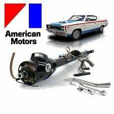 "1958-87 AMC Keyed Tilt Steering Column Shift GM 33"" Black v6 401 amx 390 327 352"