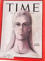 Time Magazine Jeanne Moreau  March 5, 1965 050417nonrh