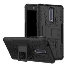 Heavy Duty Rugged Hybrid Armor Hard Case Shockproof stand Cover For Nokia 8 / 5