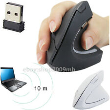 2.4G Wireless Vertical Upright Ergonomic Optical Mouse 1600DPI 5 Buttons Mice