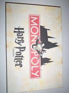 Hary Potter Monopoly Custom
