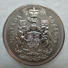1974 CANADA 50 CENTS PROOF-LIKE COIN
