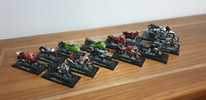 Lot of 12 Moto Guzzi 1:24 Scale Models. Extra V7 Special.