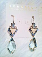 "*NEW*  &  *RETIRED*  ~ Sorrelli ~ "" COASTAL  MIST "" ~ 50 %  OFF ~ earrings"