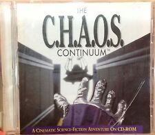 CHAOS C.H.A.O.S. Continuum Vintage Macintosh Computer Game Software Pre Owned