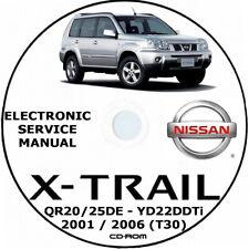 NISSAN X-TRAIL T32 SERIE 2013-2016 officina servizio riparazione manuale di download