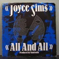 "(o) Joyce Sims - All And All (7"" Single)"