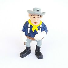FIGURINE COLLECTION LUCKY LUKE SCHLEICH 1984 W.GERMANY SERGENT O' FLANAGAN 8 CM
