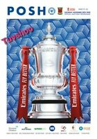 Peterborough United v Chorley FC FA CUP 2ND ROUND PROGRAMME 28/11/20! IN STOCK!!