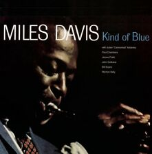 MILES DAVIS-KIND OF BLUE-BRAND NEW RE-ISSUE LP ON DOL/VINYLOGY RECORDS 2017