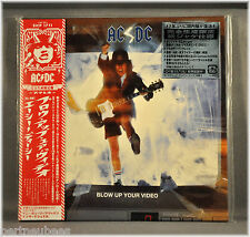 AC/DC Blow Up Your Video JAPAN Mini LP CD SICP-1711 Remaster w/Silver Sticker!