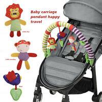 Baby Play Arch Stroller Crib Pram Activity Music Toy Rattle/Squeak/Teethers UK