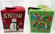 (14) Chinese Take Out Mini Containers Christmas Craft Holiday Party Favors