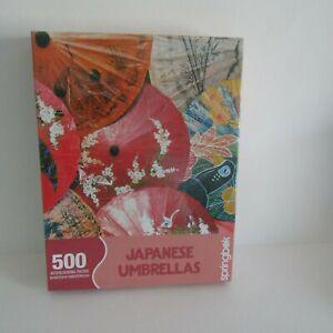 Springbok 500 Piece Japanese Umbrellas Puzzle NEW SEALED