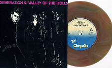 """Generation X - Valley Of The Dolls 7"""" BROWN VINYL Billy Idol Chelsea Subway Sect"""