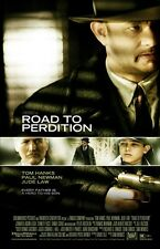 Road To Perdition movie poster - Tom Hanks poster, Paul Newman poster