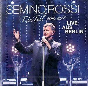 Semino Rossi - Ein Teil von mir - Live aus Berlin Album 2 CD Schlager Musik OVP