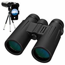 Binoculars for Bird Watching, Hiking, Hunting, 12x50 High Power BaK-4 Prisms