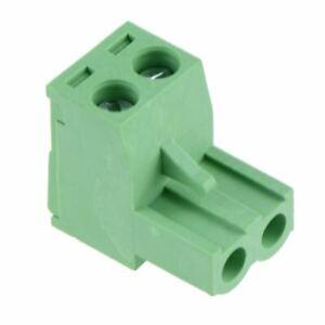 5 x 2-Way Plug-In PCB Screw Terminal Block 5.08mm
