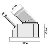 TRIDON Std Thermostat For Holden Calibra YE95 - DOHC 08/95-07/98 2.0L X20XEV