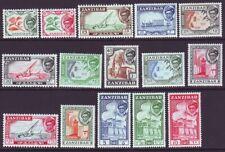 Zanzibar 1957 SC 249-263 MNH Set