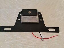 Custom Trailer License Plate Bracket with LED Plate Light Rust Proof Polymer