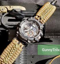 Casio G-Shock Pro Trek Pathfinder Paracord Watch Band Premium Strap
