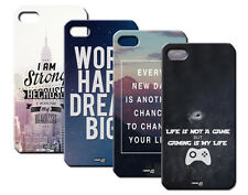 IPM CUSTODIA COVER CASE FRASI CITY HIPSTER GAMER PER CELLULARE iPHONE 5 S 5S
