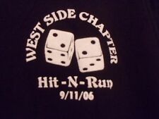 MC Club Nam Knights black graphic 06 Hit n Run Westside Chapter XL t shirt