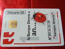 RARE TELECARTE - F 586.970.JD - BANQUE DIRECTE - Justifié D - TTBE - Côte 180 eu