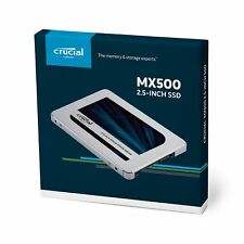 Crucial MX500 500GB 3D NAND SATA 6Gb/s 2.5 Inch Internal 7mm Solid State Drive