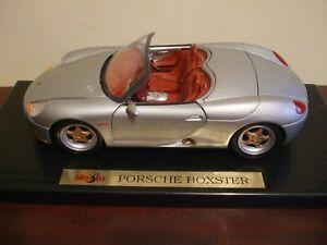 Maisto 31814 Porsche Boxster Silver Edition 1/18 Boxed
