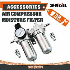 X-BULL Air Compressor Moisture Water Trap Filter Regulator Separator with Mount