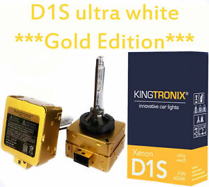 2x D1S 6000K GOLD EDITION XENON Brenner VW Phaeton 3D2 EOS up! Bus T4 T5