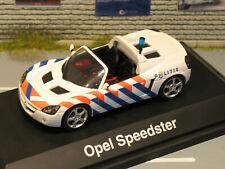 Opel Speedster, Politie, Schuco 1:43 OVP