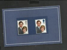 Charles And Diana 1981 Royal Wedding Stamp Collection In Commemorative Booklet.