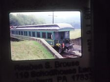 Original Slide Train RR Pennsylvania Sunbury GMRC Special Business Car 4 DH CP b