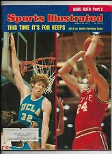 A Sports Illustrated Magazine ~ March 25 1974 ~ Bill Walton Tom Burleson