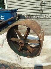 Vintage Oliver Tractor Model 80 Belt Pulley Part Number C691b Used
