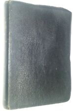 The Holy Bible Moroccan Leather King James Version Handy Sized