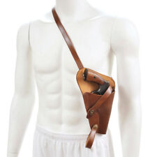 US WW2 M3 Victory Revolver Pilots Shoulder Holster Premium Drum Dyed Leather
