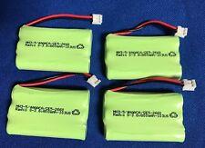 4 batteries(NIMH 3.6V800mAh)For GE 5-2626/2628/2521/2522/2721...Cordless Phones