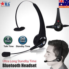 Over the Head Mic Wireless Bluetooth Headset For Mobile Trucker Drivers