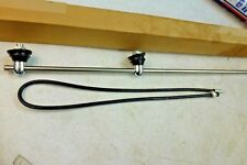 NOS Double Post 8' Antenna 1936 - 1948 Willys Jeep Chevy Buick Pontiac Cadillac