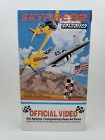 SKYFIRE 92 - 1992 Reno Nevada Championship Air Races Racing AIRPLANE VHS TAPE