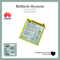 batterie Original HUAWEI P9 PLUS HB376883ECW NEUF