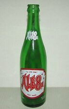 Vintage Ale 8 1 - A Late One - 12 oz. Green Glass Soda Bottle
